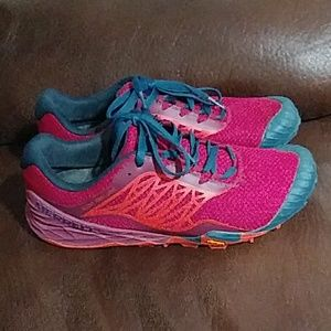 Merrell Allout Terra Light Bright Red 9.5 ExCon